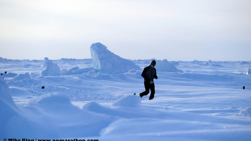 En route vers le pôle Nord!