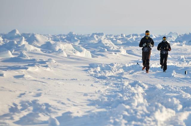 North Pole Marathon Lap 1