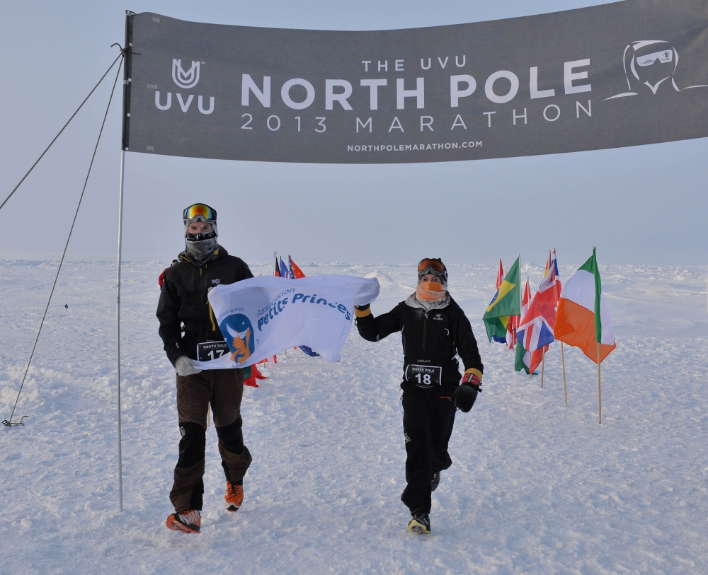 North Pole Marathon (copyright Mike King)