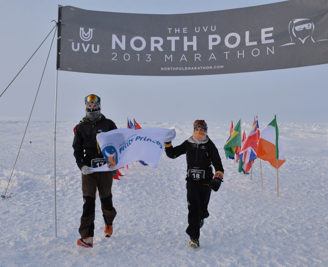 North Pole Marathon (copyright Mike King)