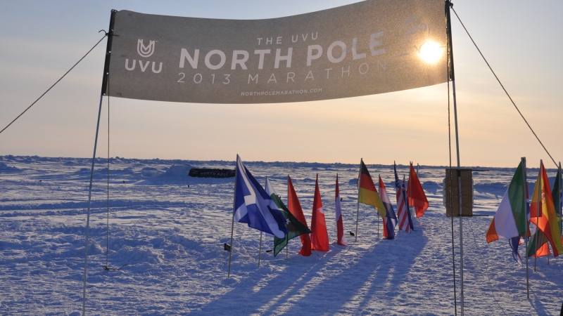 North Pole Marathon 2013 : Le récit de la course !