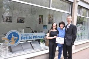 Association Petits Princes (Dominique, Stéphanie & Jérémie)