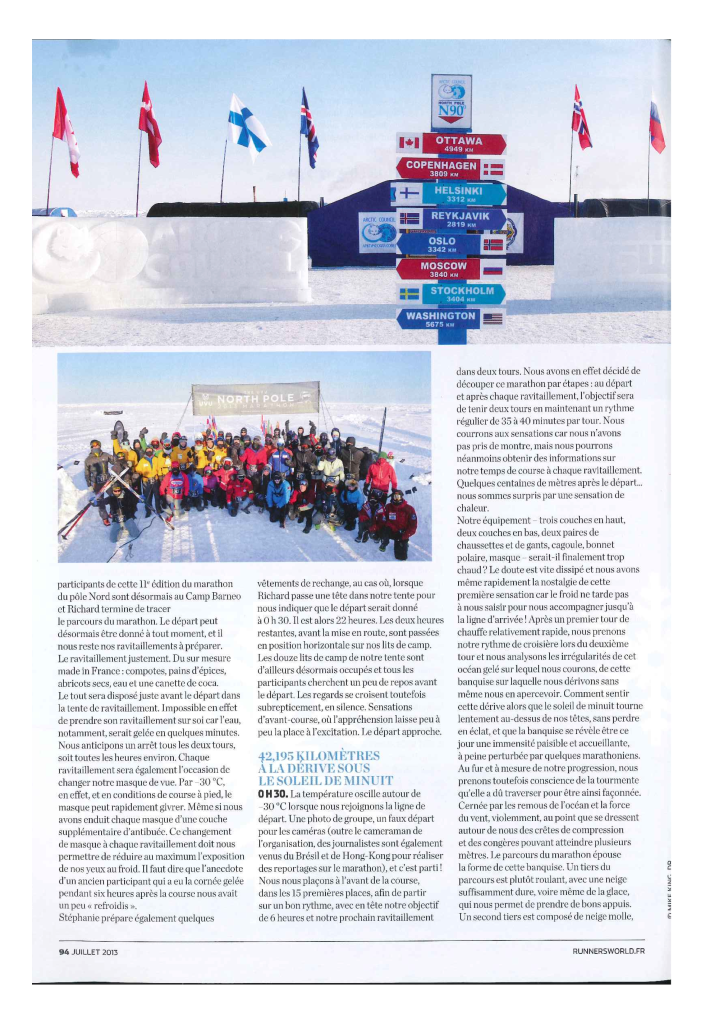 Article Runner's France Juillet 2013 (page 4)