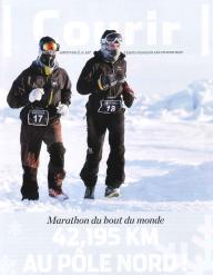 Couverture Récit Marathon Pole Nord