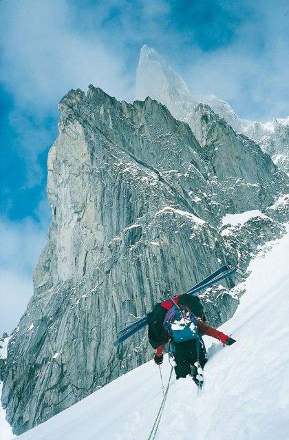 Lionel Daudet Alpinist Eider