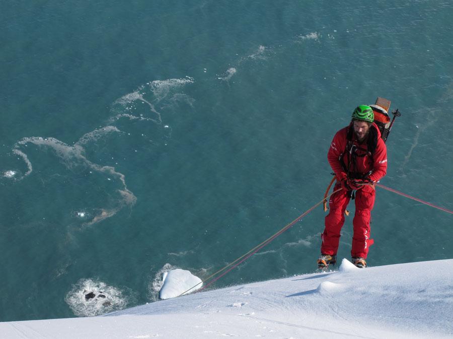 Lionel Daudet Alpiniste Eider