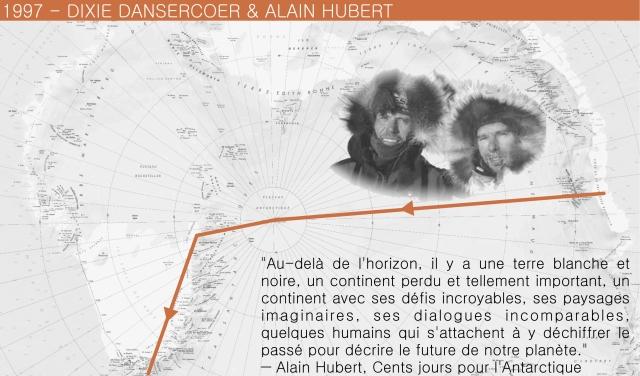 1997 Dixie et Alain Hubert