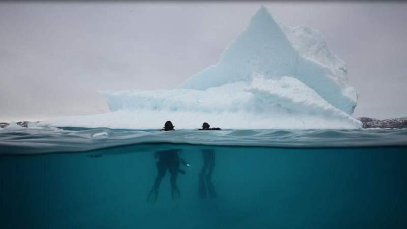Entretien avec Eve Leroy – Plongée sous les icebergs duGroenland