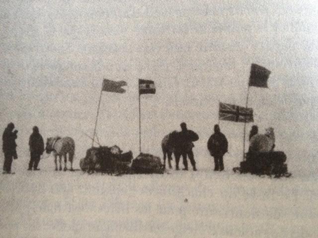 Expe Nimrod Départ pour le pôle