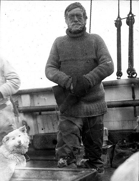 Expe Nimrod Ernest Shackleton