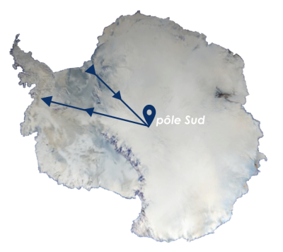 antarctique carte