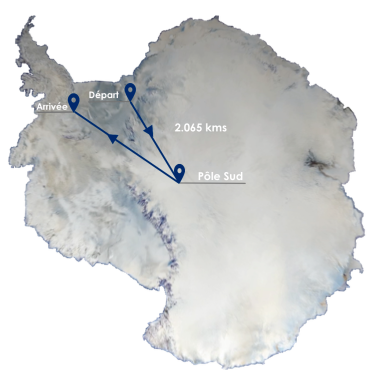 Carte Antarctique Tracé png